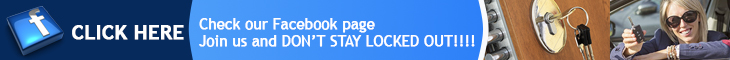 Join us on Facebook - Locksmith Fontana